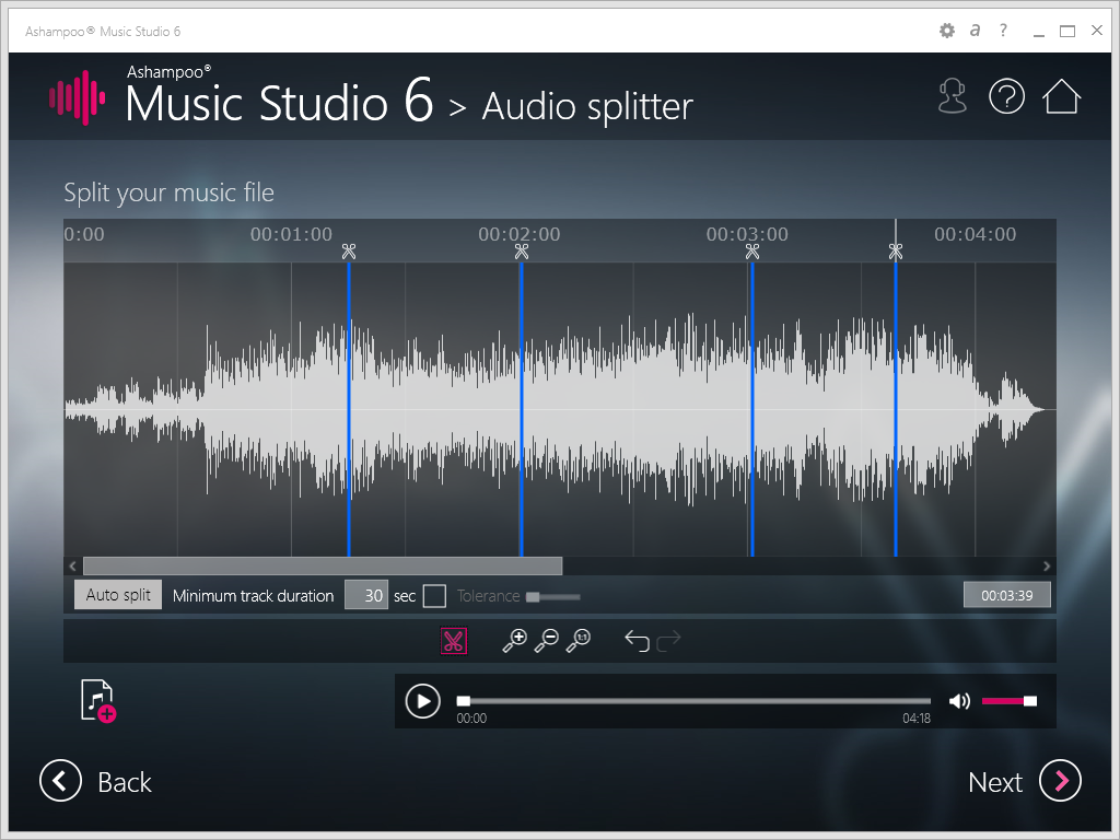 Discount ashampoo music studio 6 pre order 20 off net load for Music studio design software