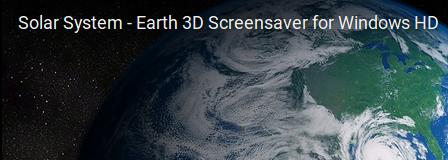 solar system earth 3d screensaver - photo #22