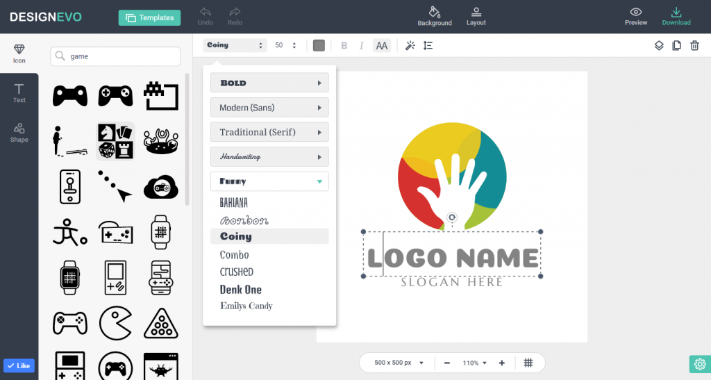 Free Logo Maker  Create your own logo in minutes!