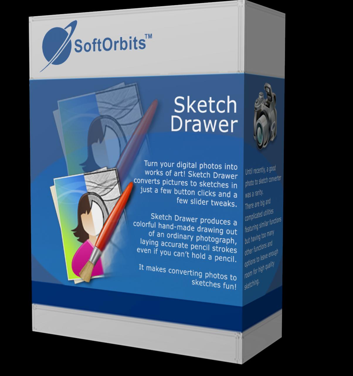 Giveaway: SoftOrbits Sketch Drawer 6 Pro for FREE | NET-LOAD COM