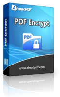 Ahead PDF Encrypt - Single-User License