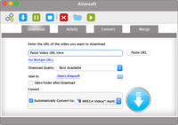 Allavsoft for Mac 1 Year License