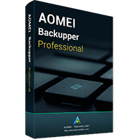 AOMEI Backupper Professional + Lifetime Upgrades (2 PCs / License)