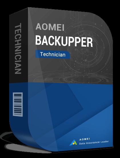 AOMEI Backupper Technician + Lifetime Upgrades (Unlimited PCs)