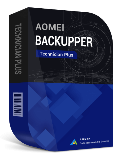 AOMEI Backupper Technician Plus + Lifetime Upgrades (Unlimited PCs & Servers)