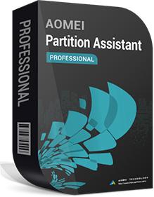 AOMEI Partition Assistant Professional + Lifetime Upgrades (2 PCs / License)