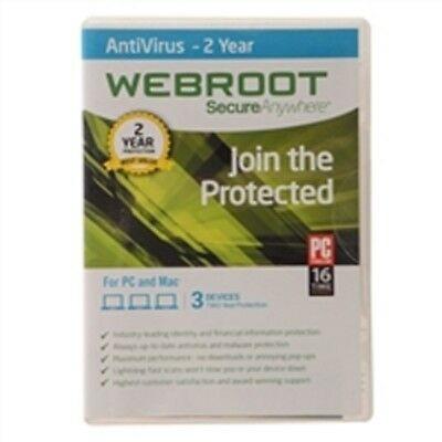 DOWNLOAD   Webroot SecureAnywhere AntiVirus 2020   2 YRS Subscription, 5 PC/MAC