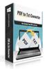 PDFtoTxt Converter
