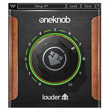 Waves OneKnob Louder Plugin - Genuine License Serial - Digital Delivery