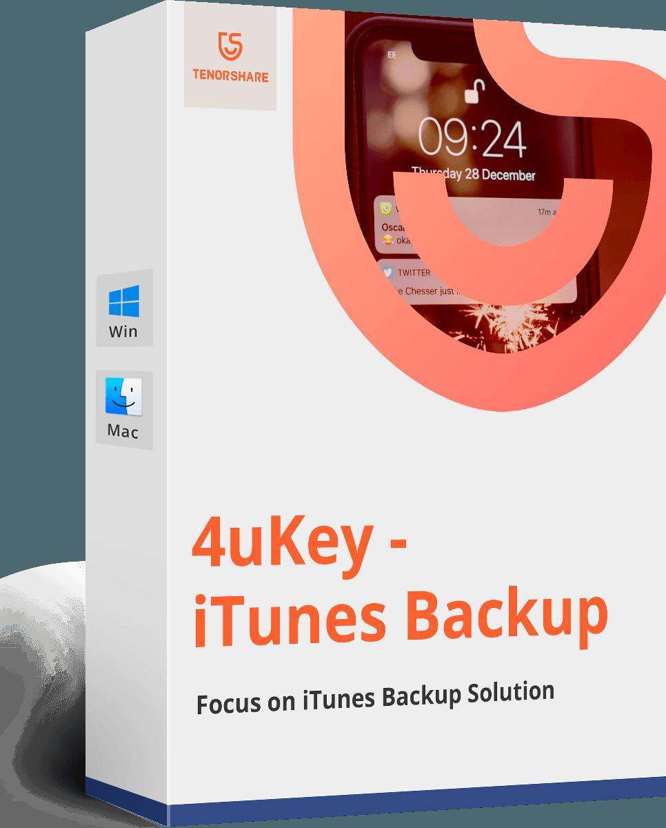 4uKey - iPhone Backup Unlocker