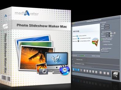 mediAvatar Photo DVD Slideshow for Mac