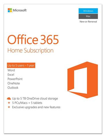 Microsoft Office 365 Home Premium Product Key Card