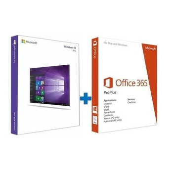 Microsoft Windows 10 Pro + Microsoft Office 365 2019 Pro Plus Lifetime Account 5 Devices PC/Mac All Language-Fast Shipping