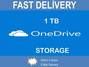 One Drive 1 TB Storage + 365 Office Lifetime Account FREE & FAST SHIPPING
