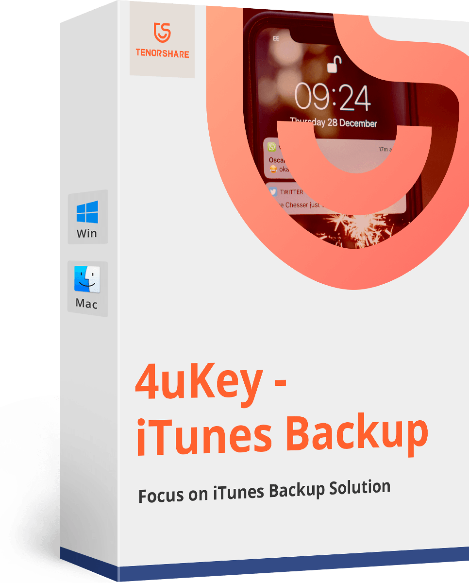 4uKey - iPhone Backup Unlocker