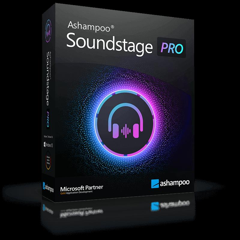Ashampoo® Soundstage Pro coupon: 5CF-CQ7-2ZV