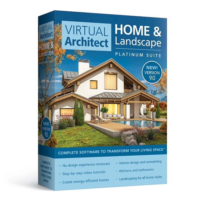 Virtual Architect Home & Landscape Platinum Suite 9.0