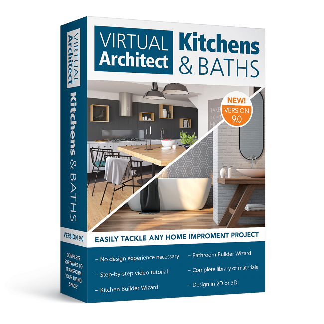 Virtual Architect Kitchens & Baths 9.0