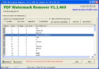 PDF Watermark Remover Home Edition