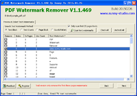 PDF Watermark Remover Home Edition